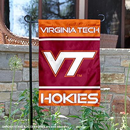Charmant VA Tech Hokies Garden Flag