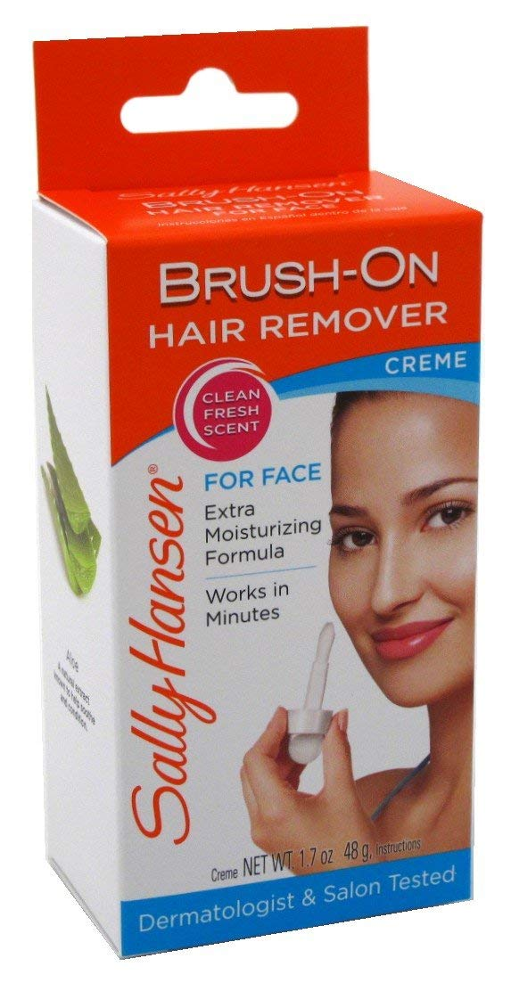 Sally Hansen Brush-on Facial Hair Remover Cream