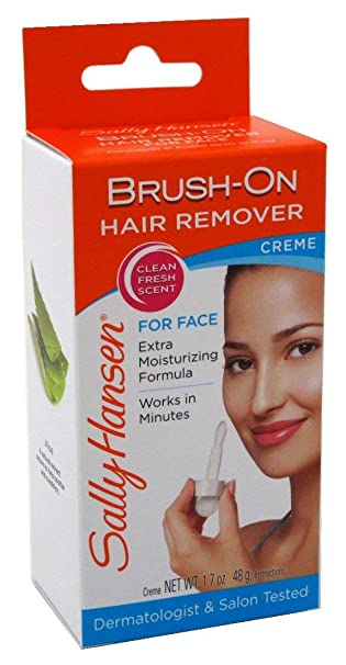 Amazon Com Sally Hansen Brush On Facial Hair Remover 2 Pack