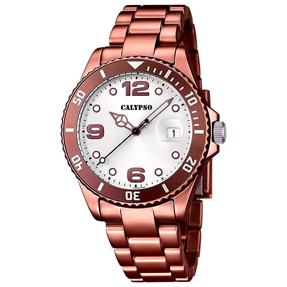 Calypso - Reloj de Pulsera analógico para Mujer Cuarzo plástico k5646/4: CALYPSO: Amazon.es: Relojes