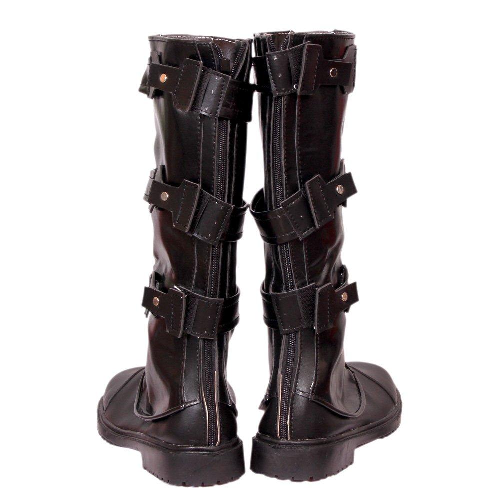 ea5091baa09e Amazon.com: Captain America Boots Black Men Shoes Infinity New Hot ...