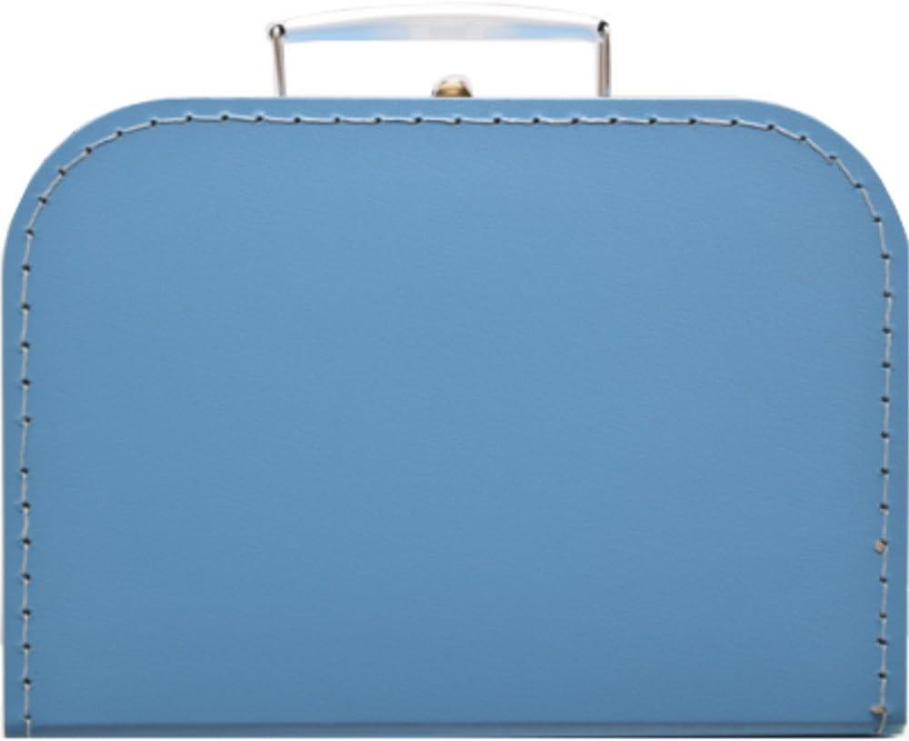 martoli Kinderkoffer hellblau 30 cm Pappkoffer