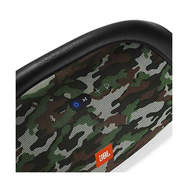 JBL Boombox - enceinte Bluetooth Portable - Son Ultra Puissant - Modes de Son Intérieur & Extérieur - Autonomie 24 Hrs - Étanche pour Piscine & Plage - Camouflage 2