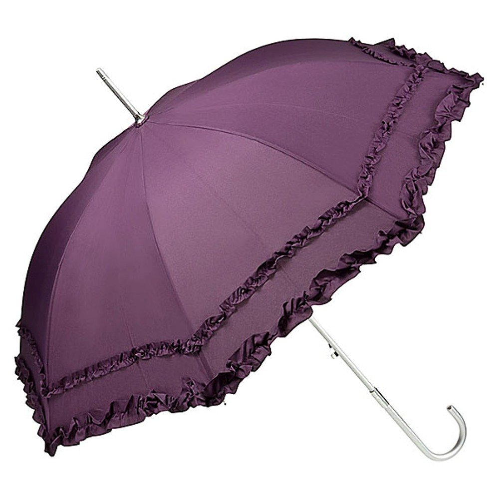 VON LILIENFELD/® Paraguas Sombrilla Boda Nupcial Mujer Autom/ático Mary Amarillo