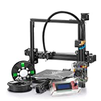 TEVO Tarantula Kit de Impresora 3D Prusa I3 Aleación de Aluminio Enmarcado con Single Extrusora Titan, Large Heatbed, Rollos de Filamento Libres, Tarjeta SD, Compatible con Windows
