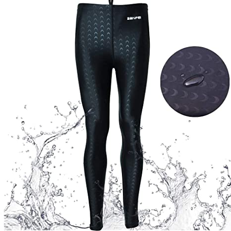 a953dbc4cff47 VANPIE Mens Rash Guard Pants Long Bottom Pants Basic Dive Skins UPF 50+ Rash  Guard