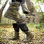 FREE SOLDIER Bottes de Chasse pour Hommes Bottes Militaires de Haut-Niveau Bottes Tactiques de Combat Chaussures à… 12