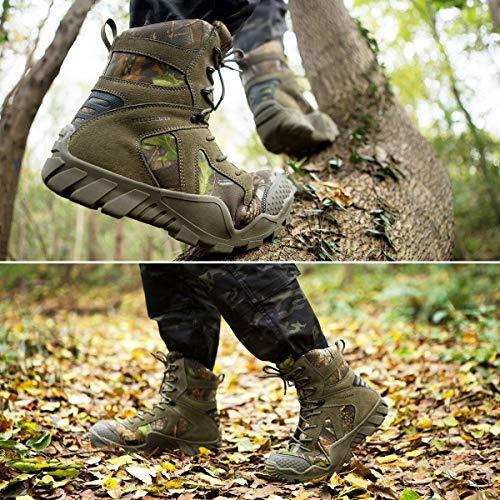 FREE SOLDIER Bottes de Chasse pour Hommes Bottes Militaires de Haut-Niveau Bottes Tactiques de Combat Chaussures à… 6