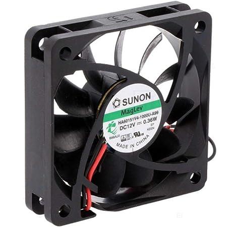 Sunon HA50151V4-999 - Ventilador (50 x 50 x 15 mm, 12 V, 3200 U/m ...
