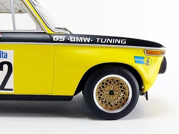 Minichamps 1:18 BMW 2002 - GS Tuning - Basche - Winner INT 5 ADAC Flugplatzrennen Diepholz DRM 1972 - 155722712: Amazon.es: Juguetes y juegos