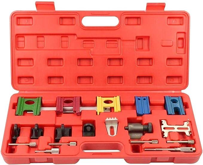 Conjunto de calado de distribucion bloqueo y reglaje universal compatible con VAG 19 Piezas: Amazon.es: Bricolaje y herramientas