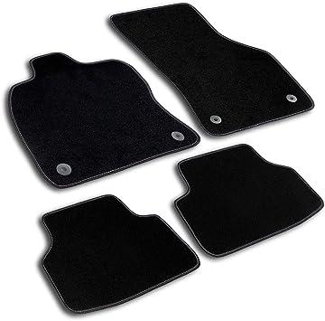 Bär Afc Ci00489 Basic Auto Fußmatten Nadelvlies Schwarz Rand Kettelung Schwarz Set 3 Teilig Passgenau Für Modell Siehe Details Auto