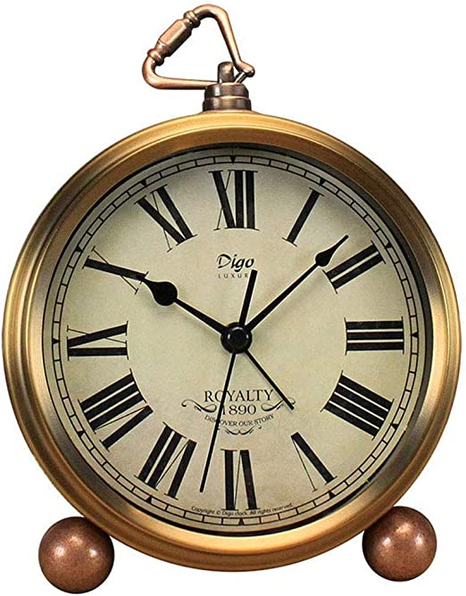CAO-Decor Relojes de Mesa, clásico para no tictac del Reloj de ...