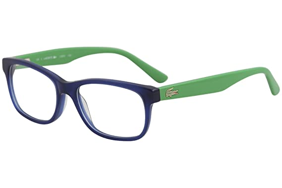 2617317d8c LACOSTE Eyeglasses L3604 424 Blue 49MM at Amazon Men s Clothing ...
