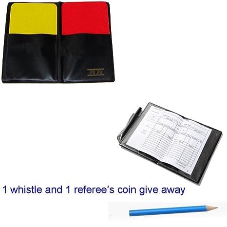 1set Profesional justo jugar fútbol gaélico fútbol árbitro tarjeta ...