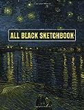 All Black Sketchbook: Van Gogh Starry Night 2