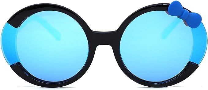 TIJN Kids Girls Outdoor Cat Polarized Sunglasses