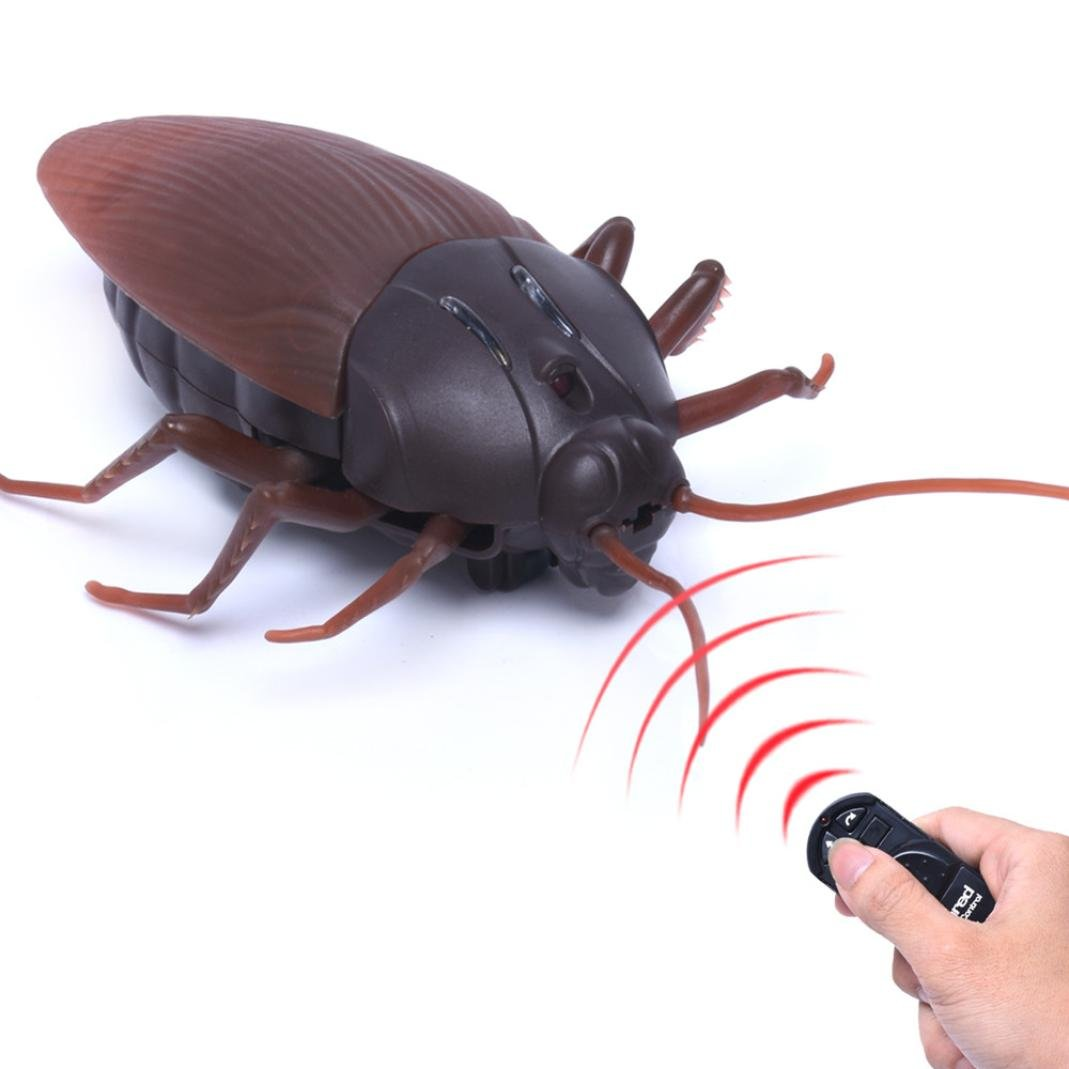 12shage Hohe Simulation Tier Schabe Infrarot Fernbedienung Kinder Spielzeug Geschenk