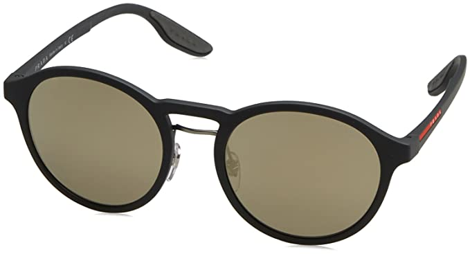 Amazon.com  Prada Linea Rossa Men s PS 01SS Sunglasses 53mm  Clothing e38038391010d