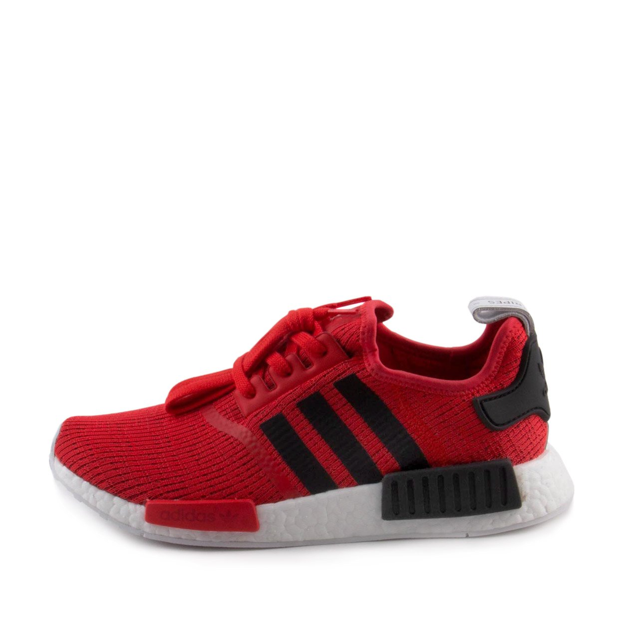 71c3d4d65fec3 Galleon - Adidas Mens NMD R1 Red Black Fabric Size 11.5