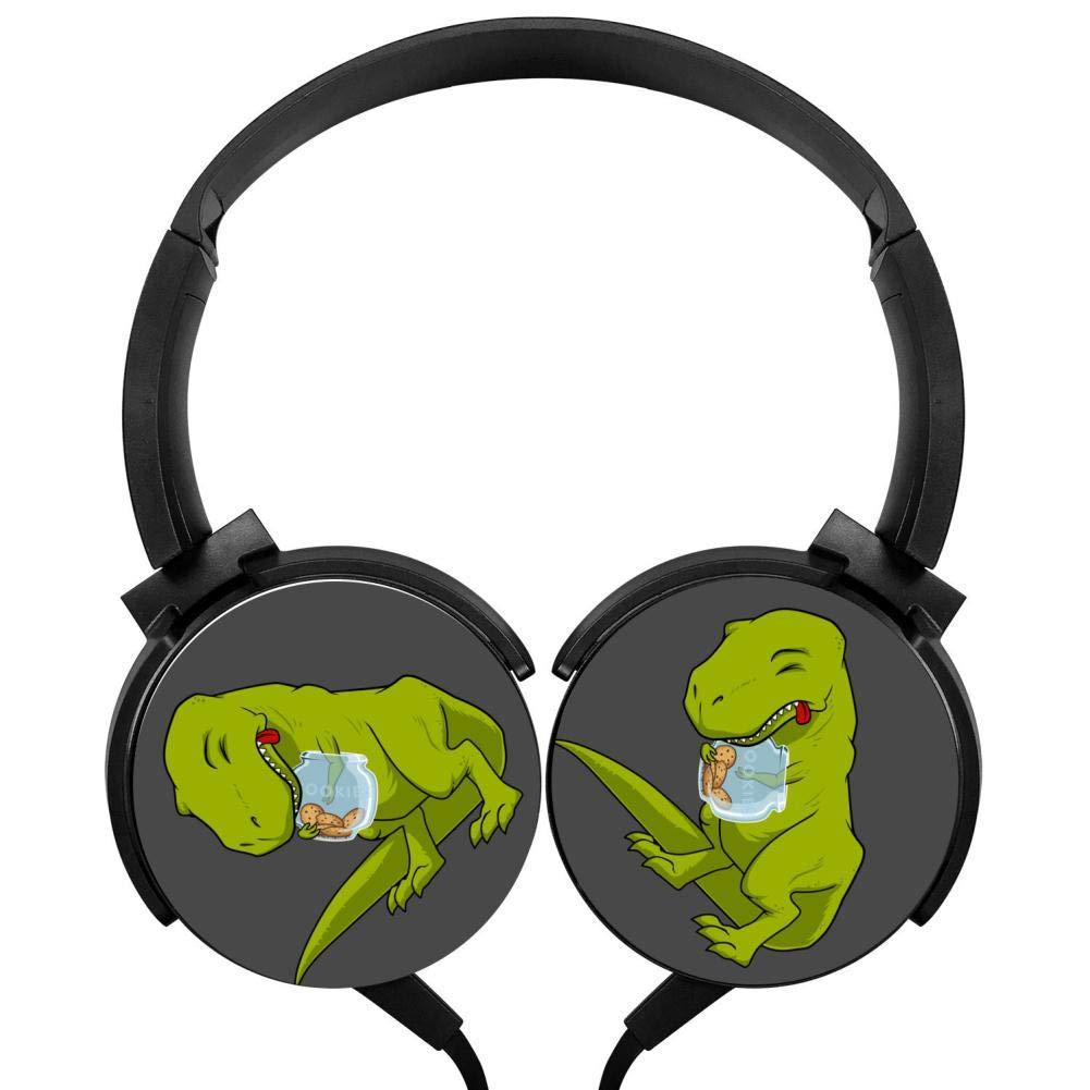 格安新品  ティラノサウルス レックス クッキーヘッドフォン 3Dプリント オーバーイヤー 3Dプリント 軽量 軽量 ヘッドフォン キッズ メンズ レックス レディース B07HBN67Z8, カリモク&国産家具のよろこび:57bc44ab --- nicolasalvioli.com