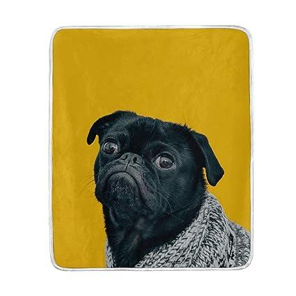 Amazon.com: Helvoon - Manta para perro, suave, cálida ...