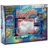 Aqua Dragons Deluxe Kit - Grow Your Own Living Aquatic Underwater Creatures