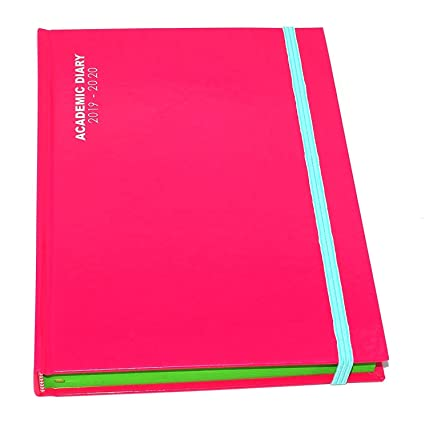 Agenda escolar de año medio 2019-2020, tapa de caja, tamaño ...