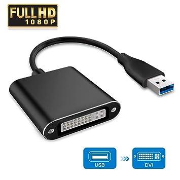 Adaptador USB 3.0 a VGA, adaptador de vídeo USB a VGA ...
