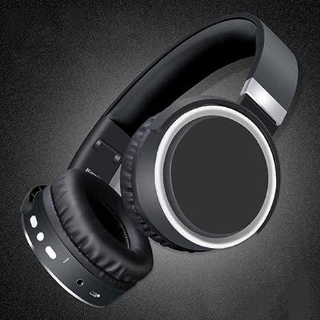 Bluetooth auriculares grandes Transpirable y cálido orejeras auriculares inalámbricos con micrófono auriculares para Xiaomi iPhone PC