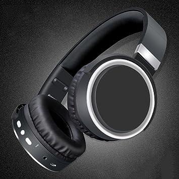Auriculares Bluetooth Cálidos y Transpirables Orejeras Auriculares Inalámbricos Con Mic Auriculares Para Xiaomi iPhone PC MP3 , Rojo: Amazon.es: Electrónica