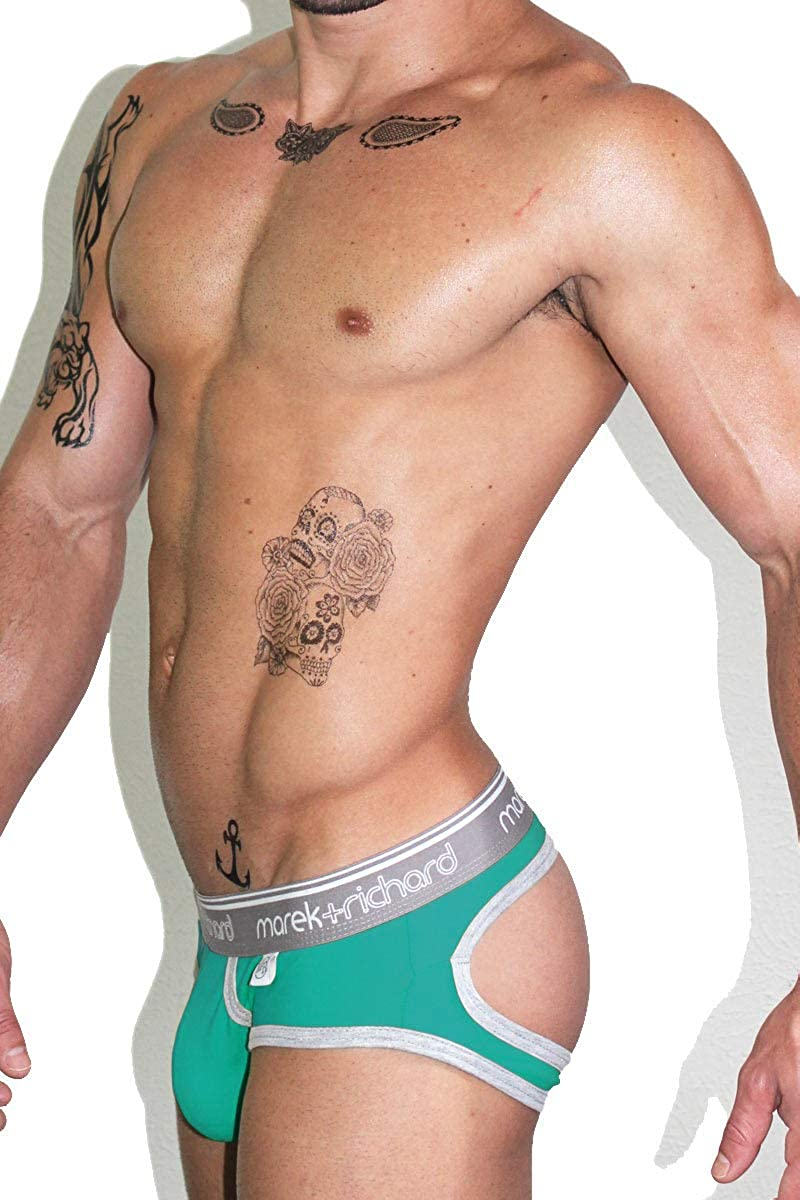 Marek+Richard Mens Core Open Back Brief