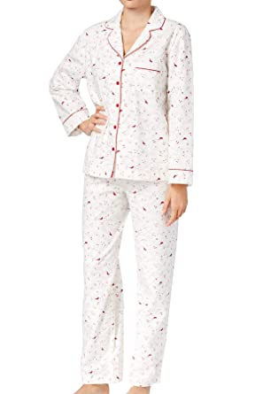 eb2bd31b961 Image Unavailable. Image not available for. Color  Charter Club Intimates  Long Sleeve Flannel Pajama Set