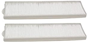 Nispira Replacement Style 8 and 14 HEPA Filter Compatible with Bissell Upright Vacuum Part #3091. Fits 3750/6595 Bissell Lift-Off series. 2 Filters