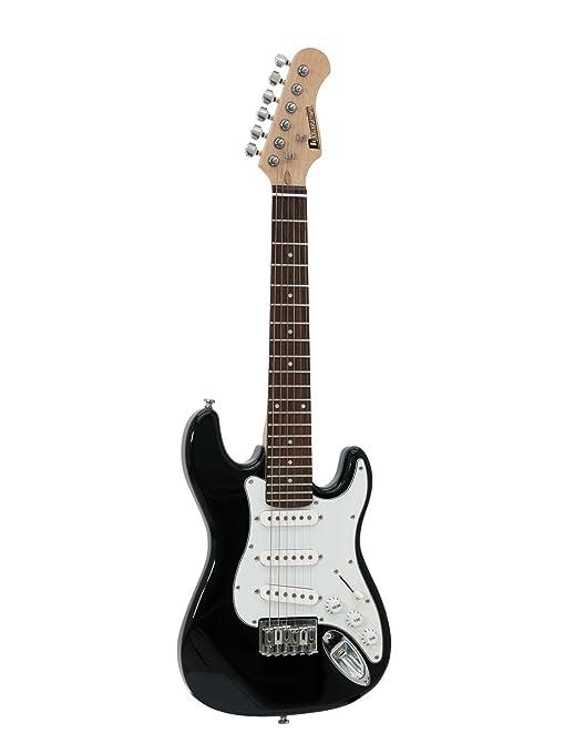 Guitarra eléctrica para niños STARTUP con accesorios, negro ...