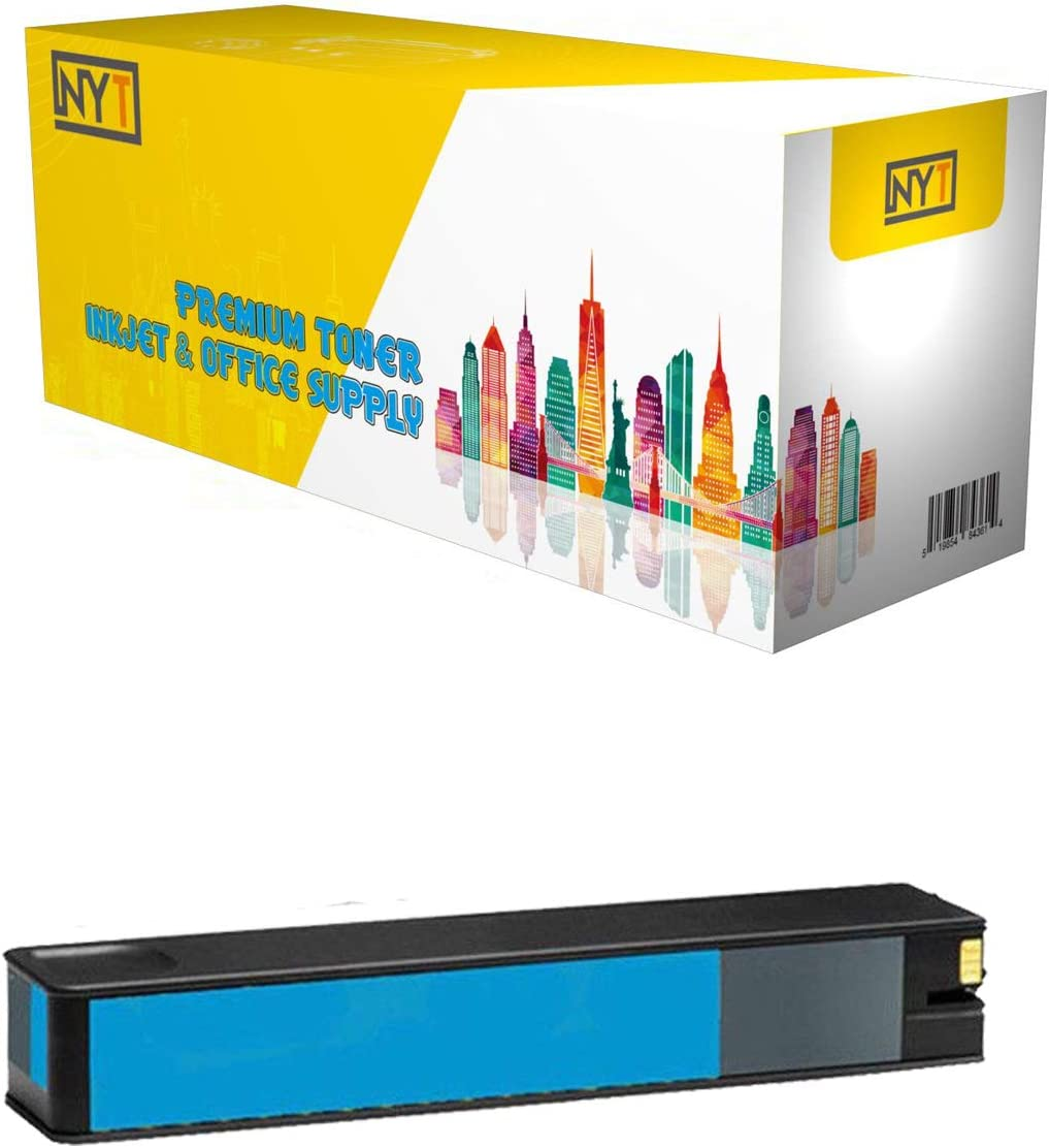 Cyan NYT New Compatible 1 Pack HP 990A M0J73AN Ink Cartridge for HP Pagewide Pro 750 772 777