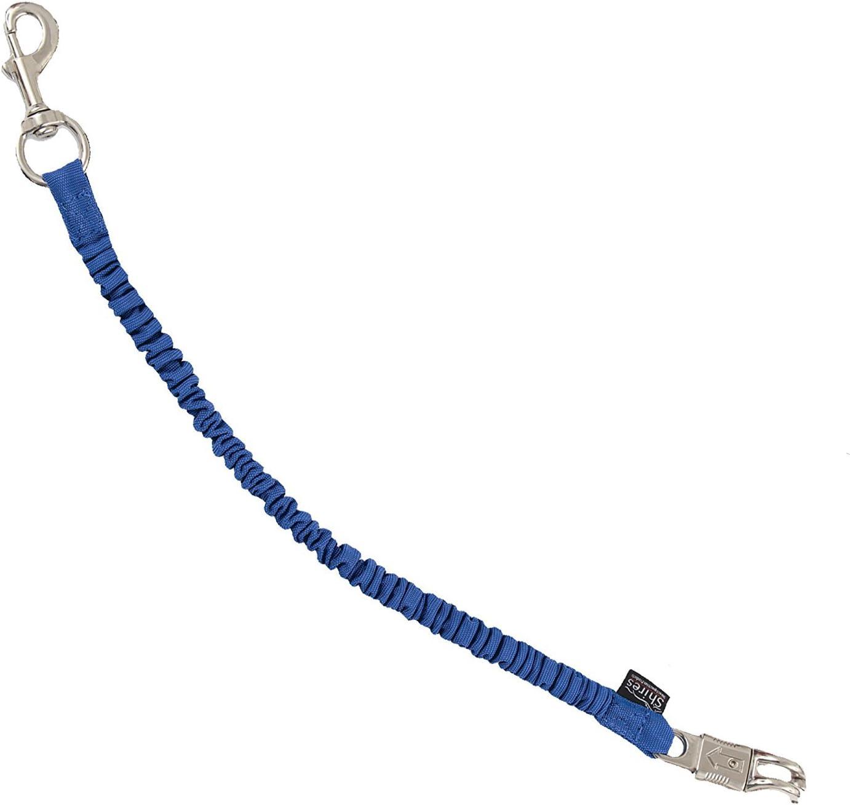 Amarre de cuerda elástica Shires, color azul, tamaño talla única