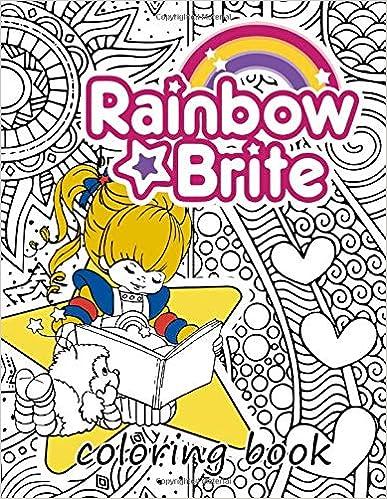 Rainbow Brite Colouring Book