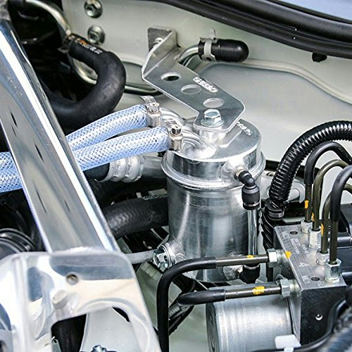Car Racing Engine Oil Catch Tank Can Reservoir Round +Hose AP1 AP2 DC2 DC5 EG EK by D&D (Drag & Drift) (Image #7)