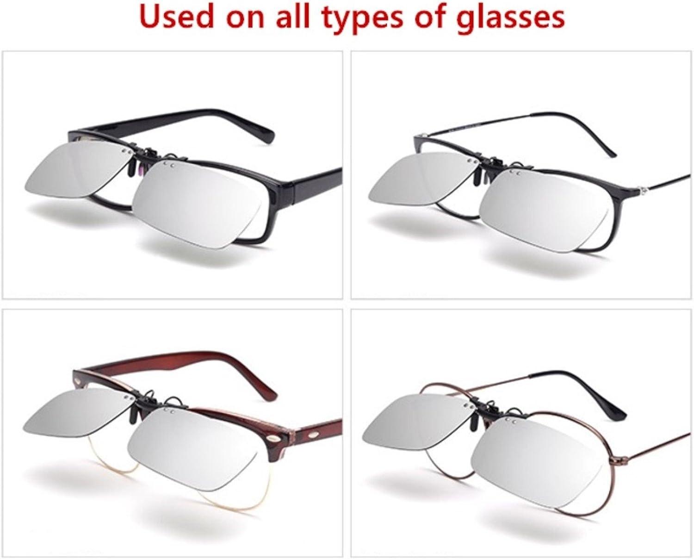 ELSA /& ANNA/® Flip-up Unisex Clip Su Occhiali da Sole Lenti Polarizzate Clipon VF-GLS01