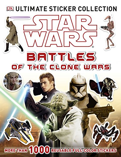 Ultimate Sticker Collection: Star Wars: Battles of the Clone Wars