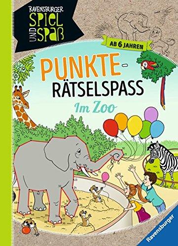 Punkte-Rätselspaß: Im Zoo (Ravensburger Spiel und Spaß)