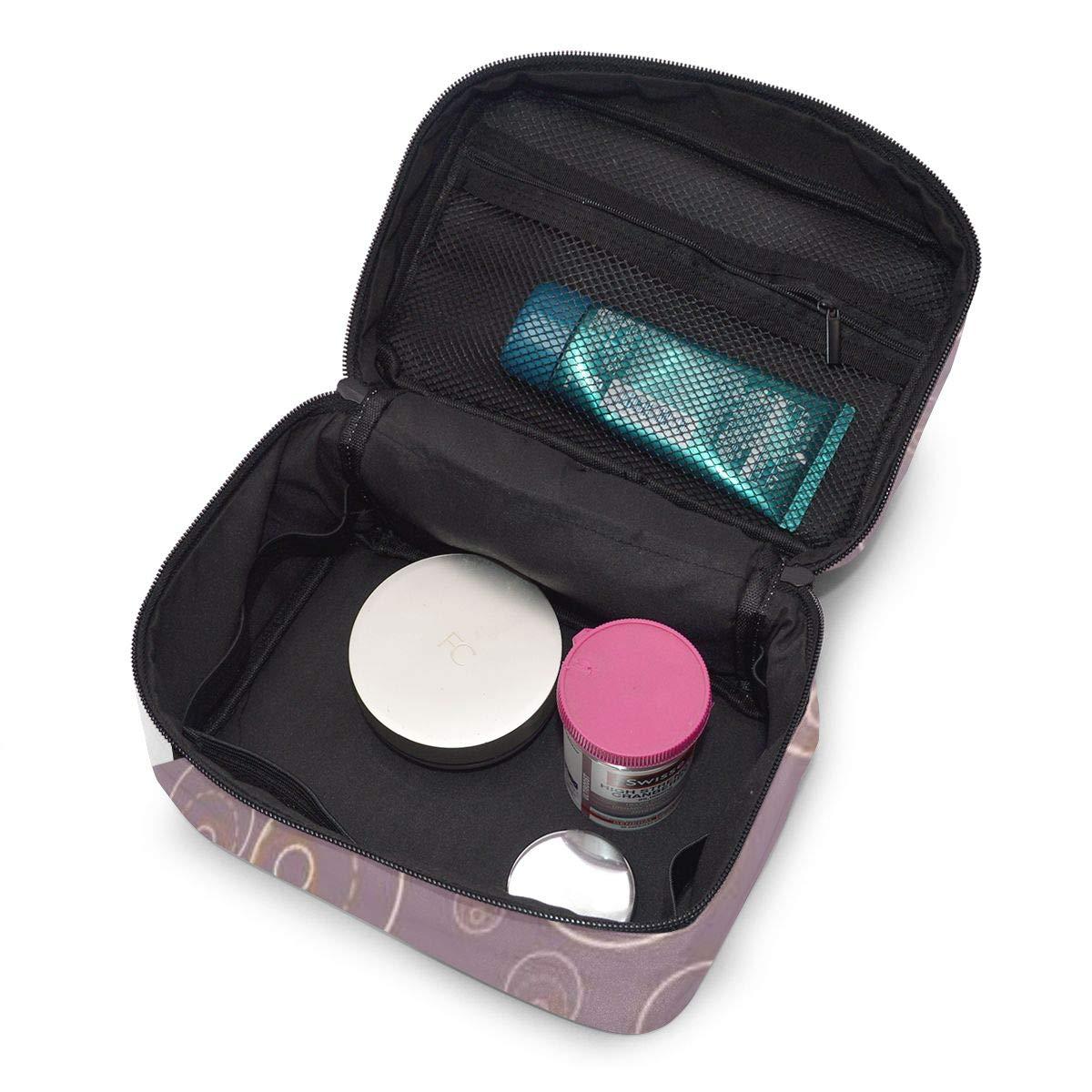 Portable Travel Toiletry Bag Organizer,Abstract Cosmetic Bags For Women Girl,Makeup Bag, Storage Bag