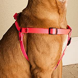 9in   15in Step In Dog Harness Pink, Sml 10   45 lbs Dog By Majestic Pet Products