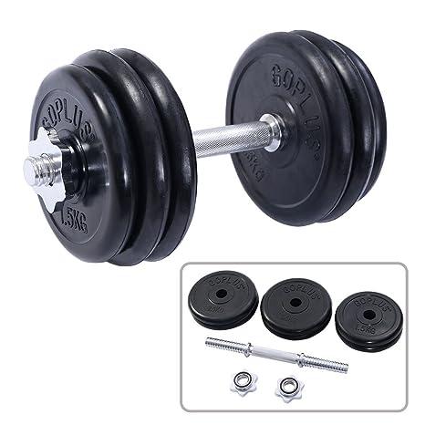 33 kg peso juego de mancuernas ajustable Cap gimnasio Barbell de goma entrenamiento platos