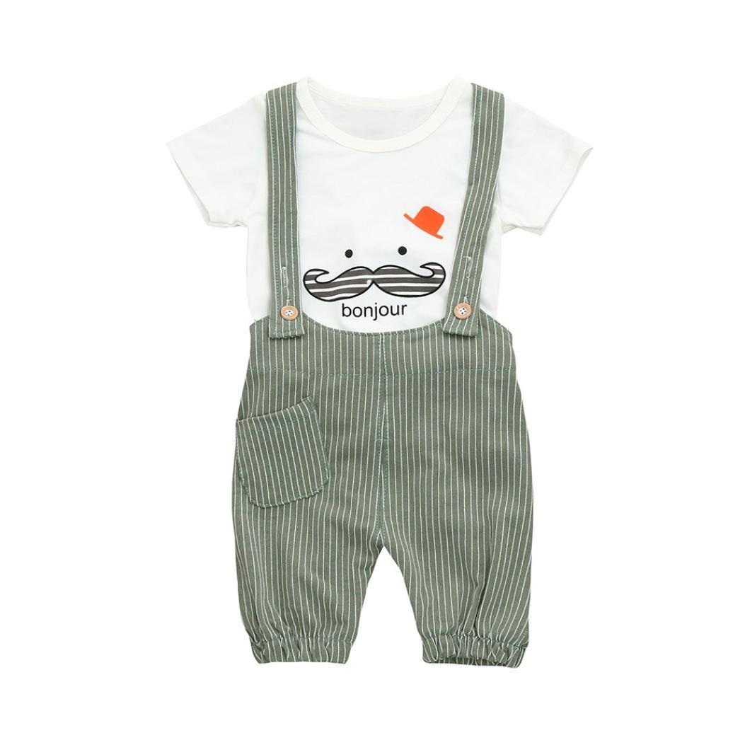 777837a0f Camisa bebé Niño K-youth® Petos Niños Ropa Recién Nacidos Bebe Niño Ropa  Bebé