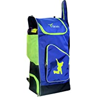 HARVEY SPORTS & FITNESS Navy Blue Black Floral Green Polyester One Size Adjustable Shoulder Strap Holdall Cricket Kit Bag