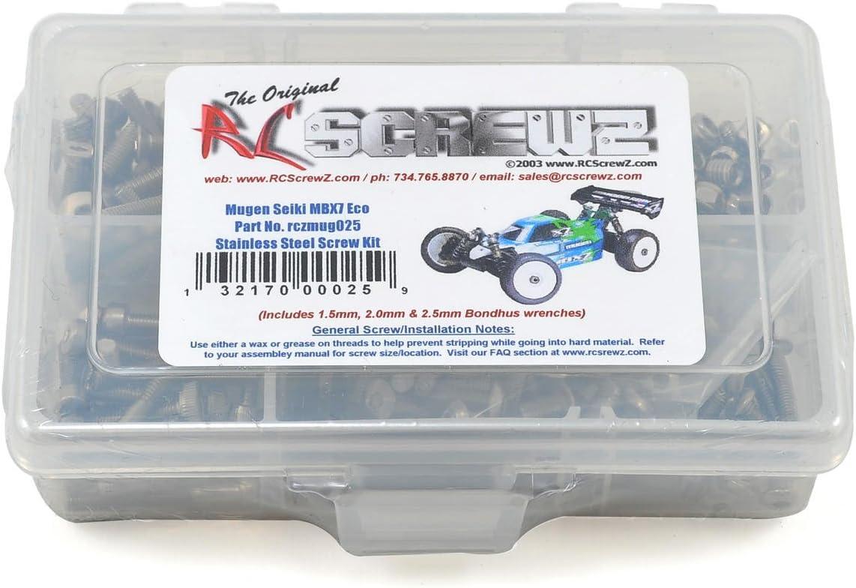 RC Screwz Mugen MBX7 ECO Stainless Steel Screw Kit