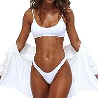 Costumi da bagno da donna con slip bikini imbottito push-up da donna,Yanhoo Nuovo Donne brasiliana Triangolo costumi due pezzi Push Up Bikini Donne Swimwear Estate Beachwear