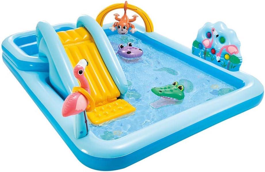 Intex 57161NP - Centro de juegos aventura acuática en la jungla: Amazon.es: Juguetes y juegos